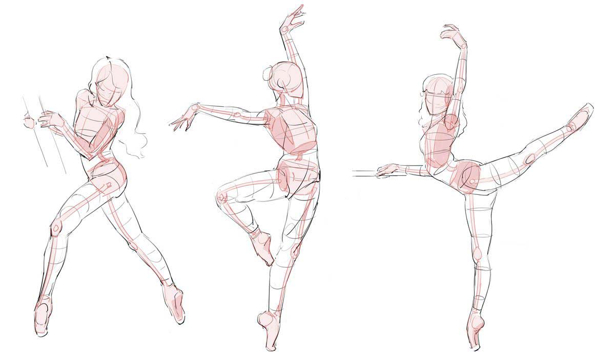 Disegno Ballerini: Ballerina Drawing Reference And Sketches For Artists