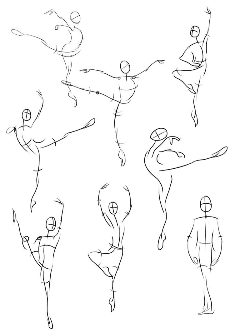 Ballerina drawing reference