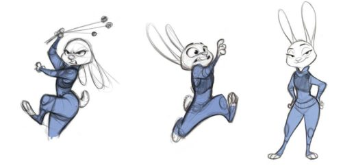 Judy Hopps drawing reference