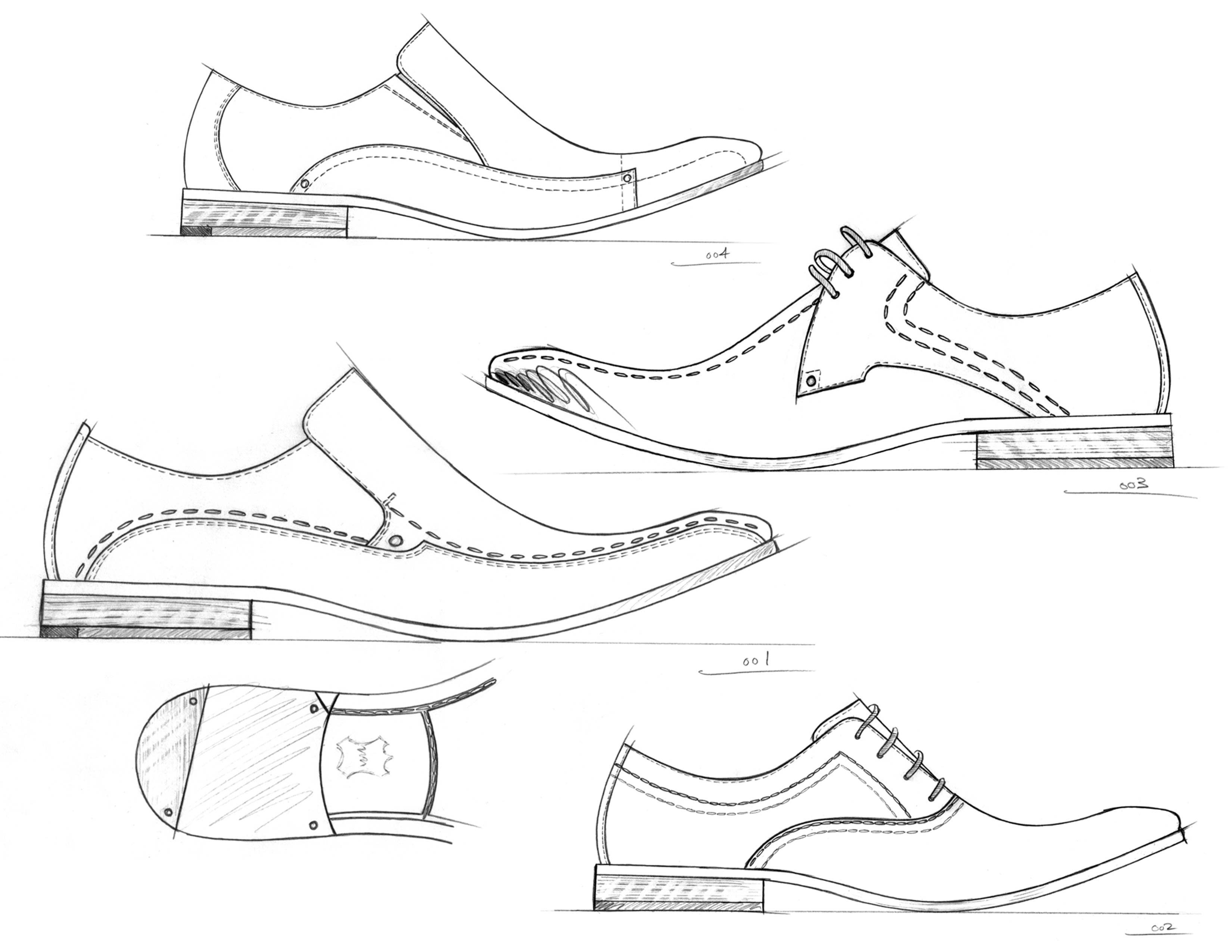Shoes Drawing Reference and Sketches for Artists