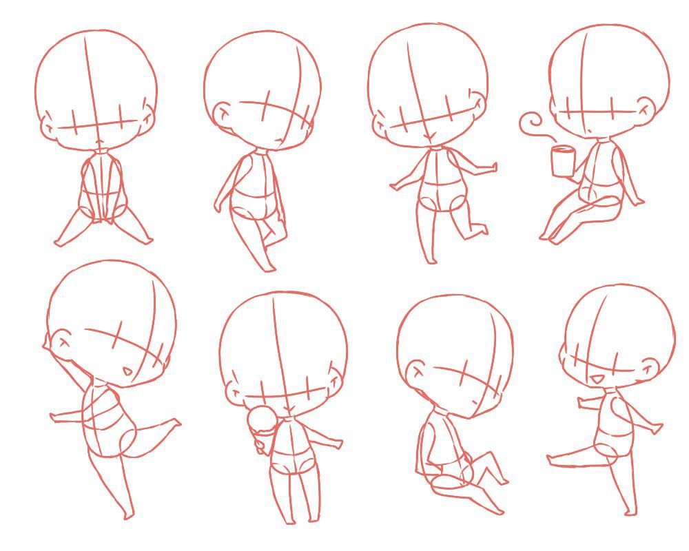 chibi drawing reference