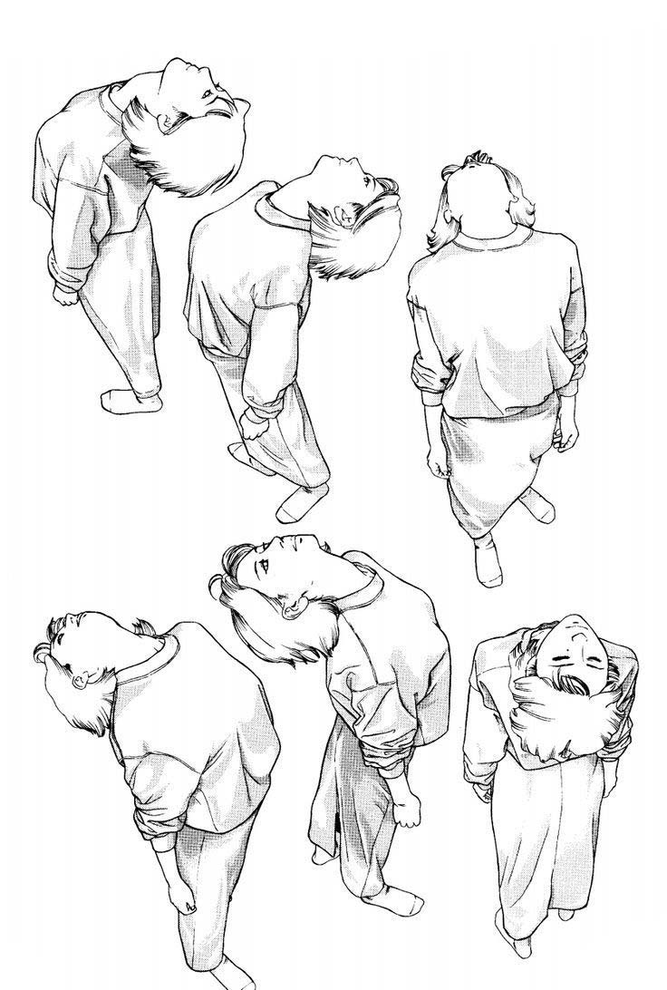 looking up drawing