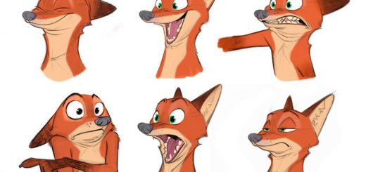 Nick Wilde drawing reference
