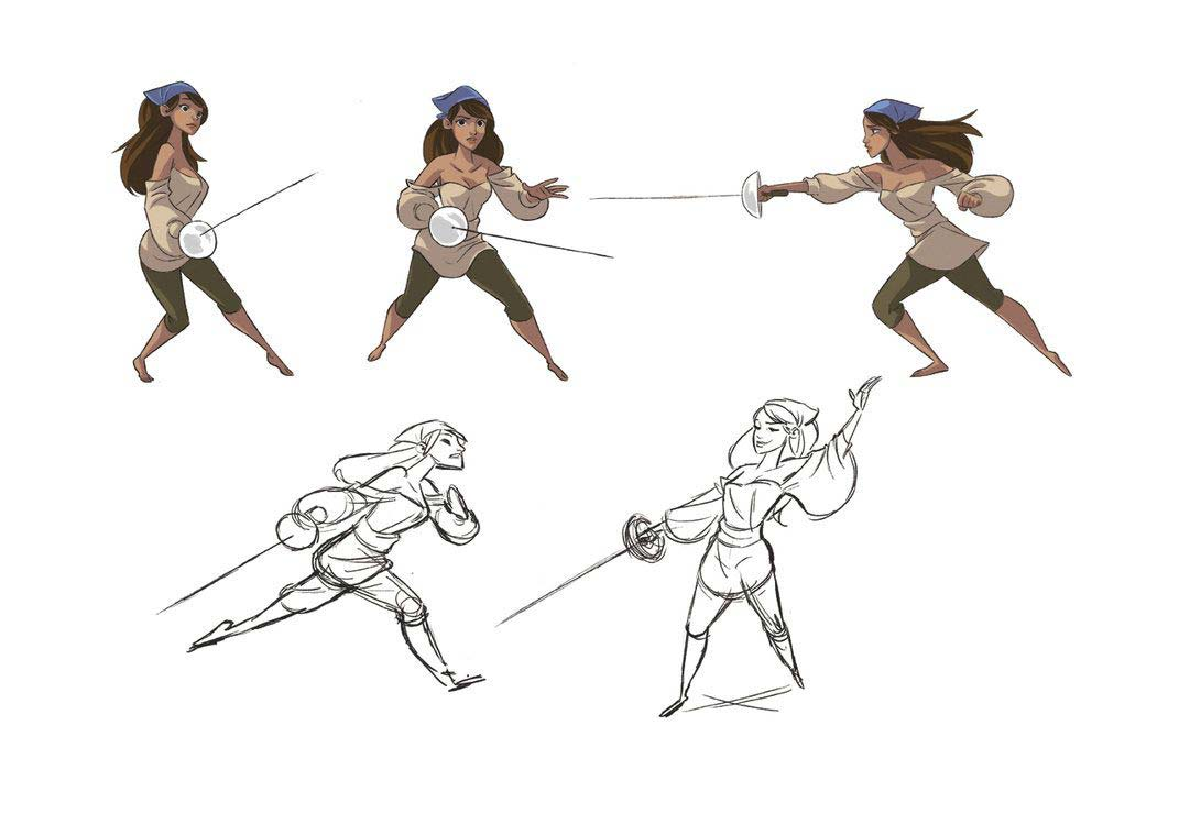It's just a graphic of Smart Sword Poses Drawing