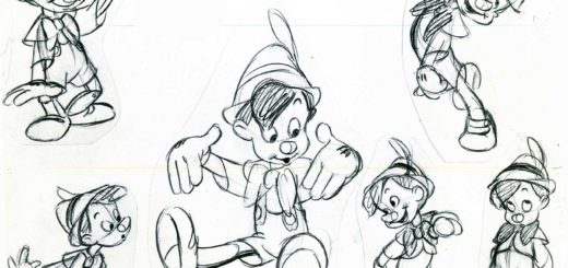 Pinocchio drawing reference