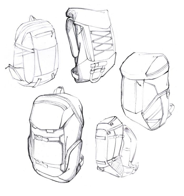 Backpack drawing reference