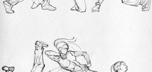 Breakdance drawing reference