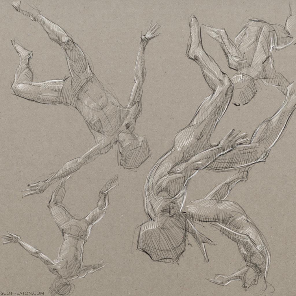 Falling drawing reference