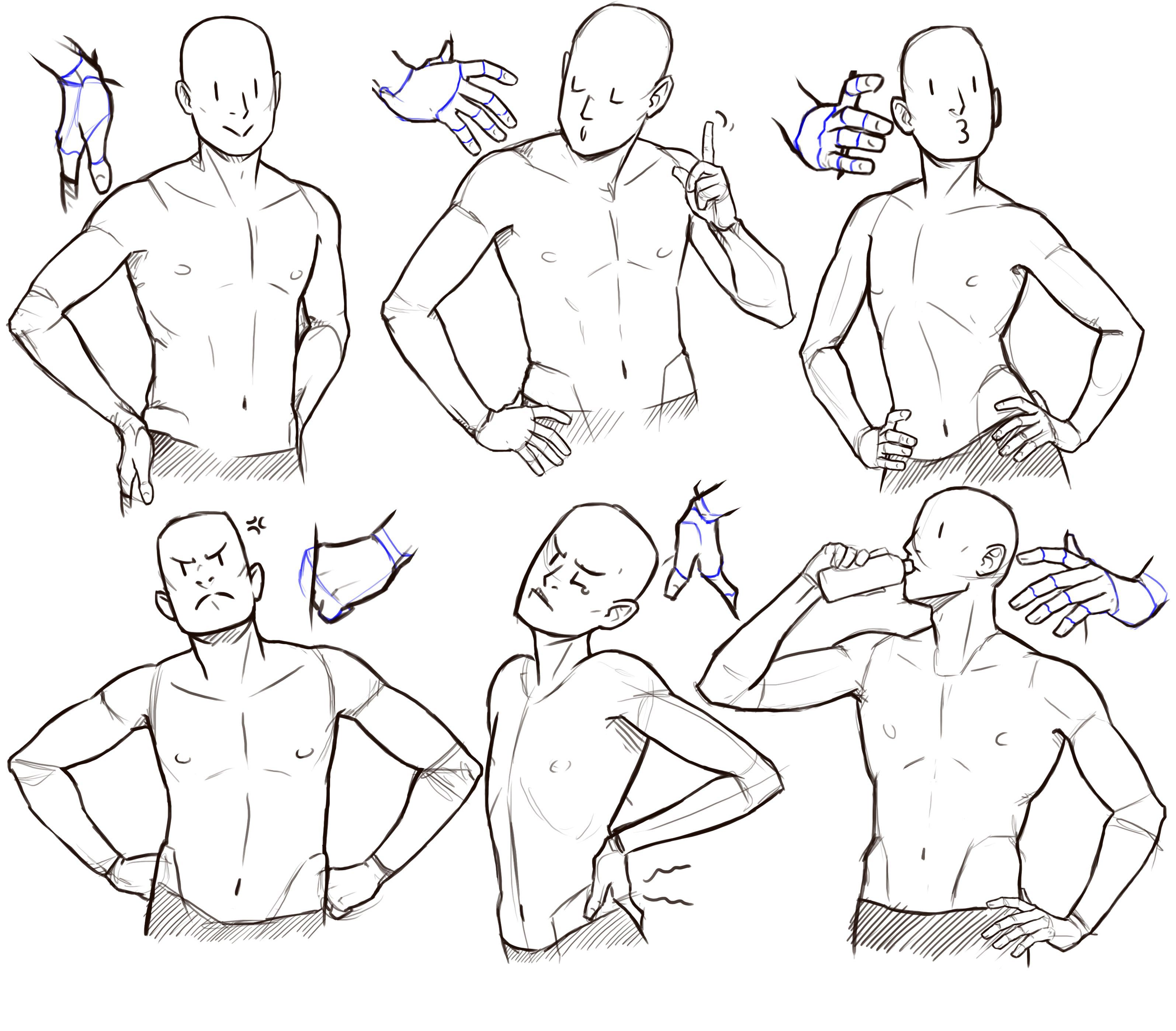 Hands on Hips drawing reference