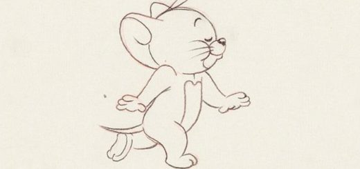 Jerry Mouse drawing reference