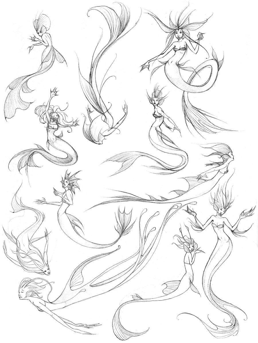 Mermaid drawing reference
