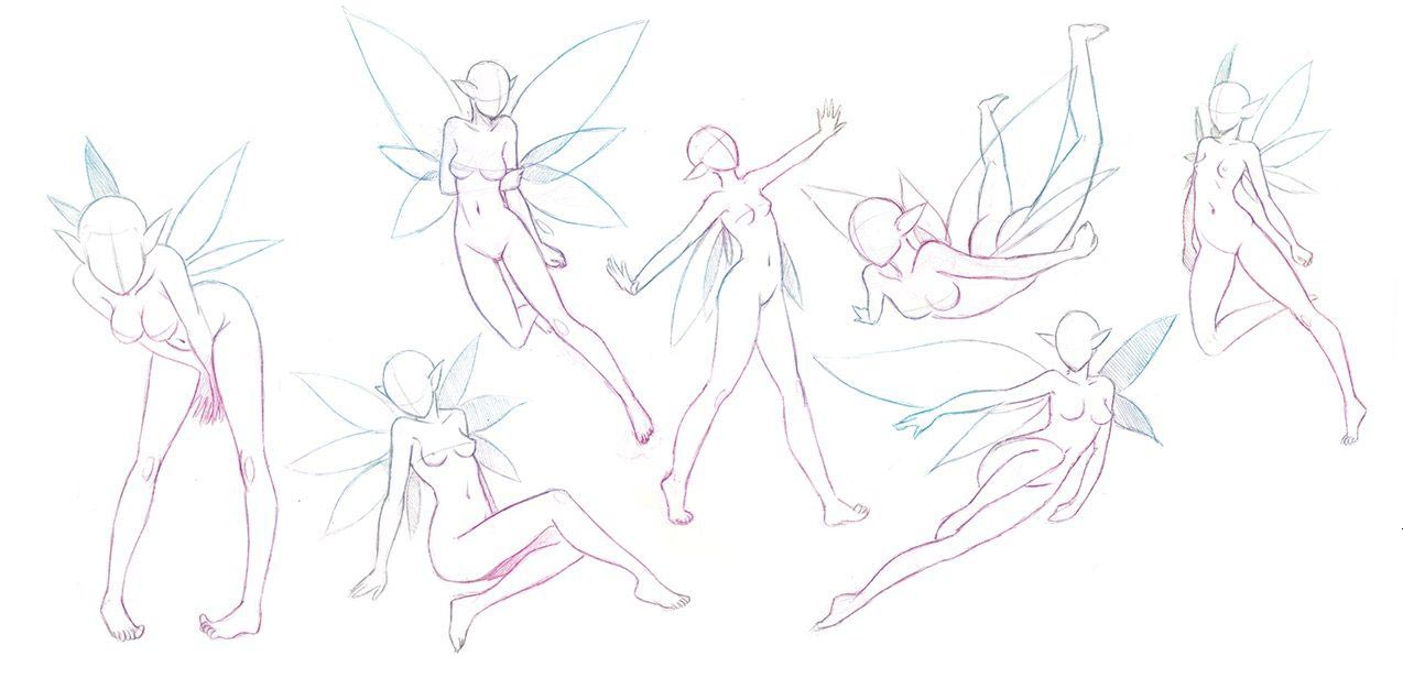 Fairy drawing reference