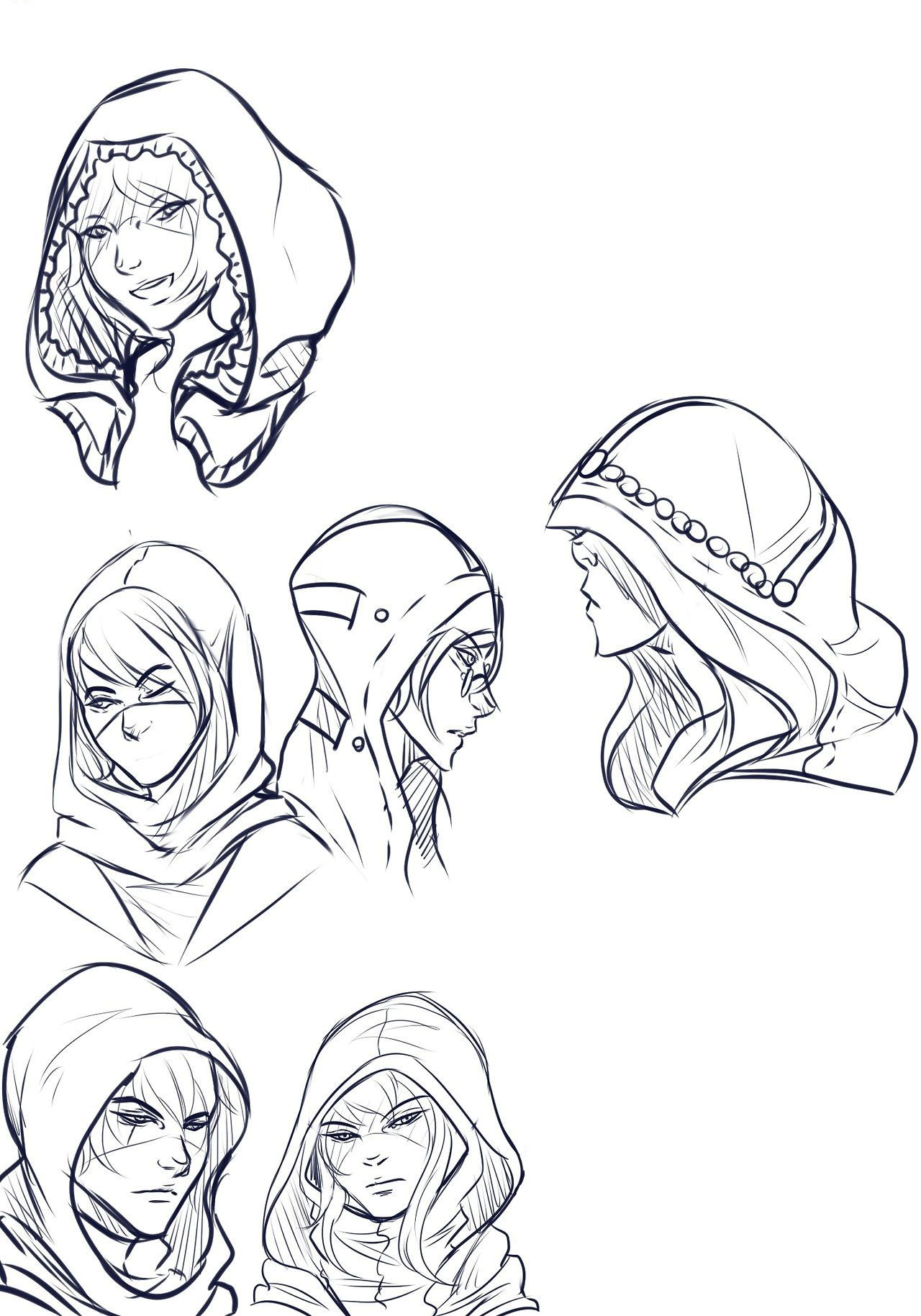 Hood drawing reference