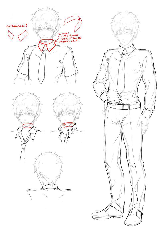 Shirt drawing reference