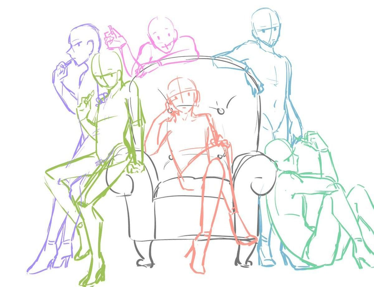 group drawing reference