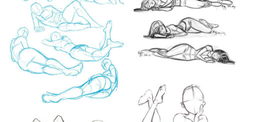laying down drawing reference