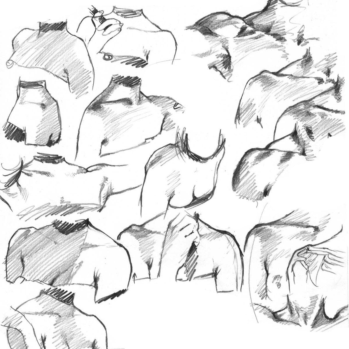 shoulder drawing reference