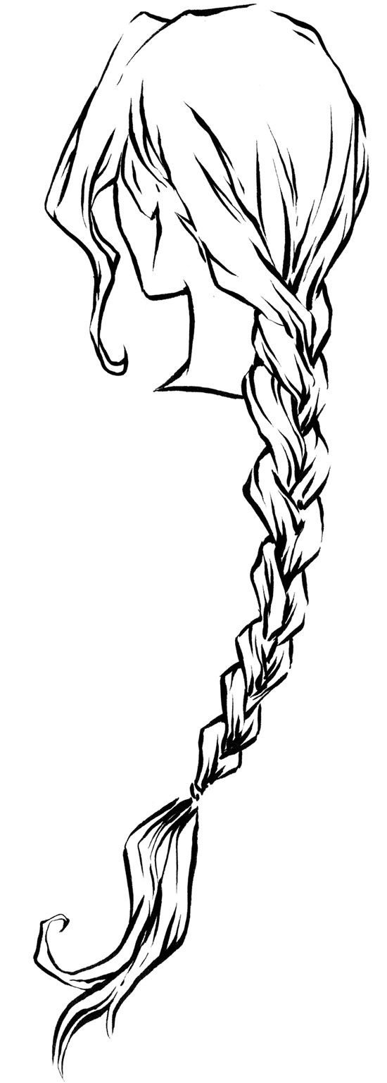 braid drawing reference