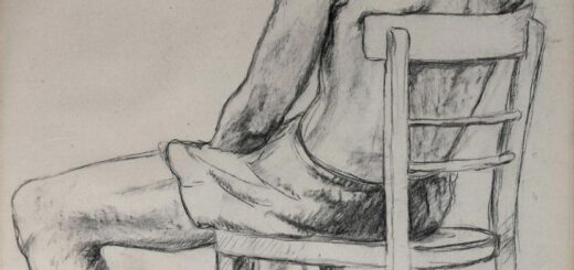 Man Sitting In Chair drawing reference